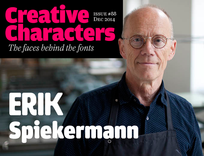 Interview with Erik Spiekermann