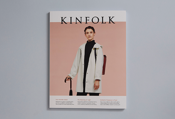 Kinfolk magazine redesigned