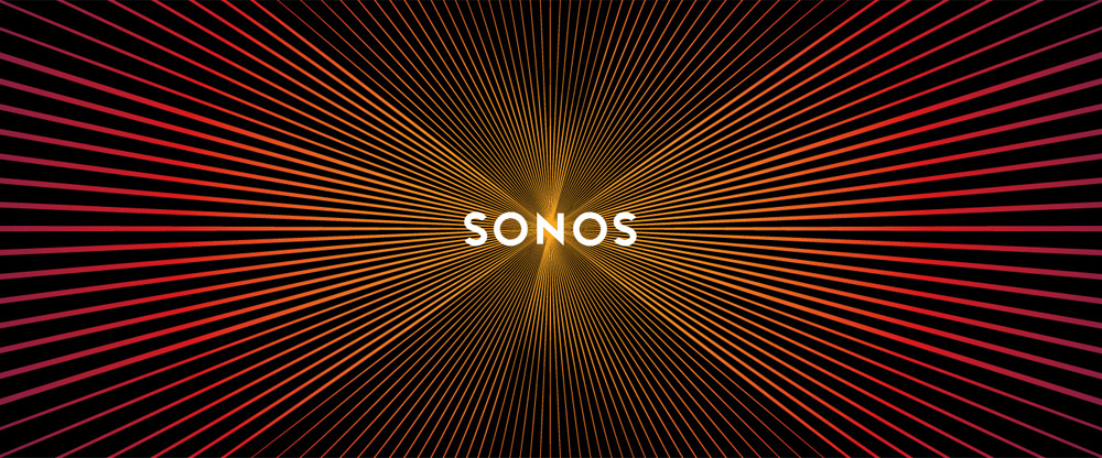 Pulsating identity for Sonos by Bruce Mau Design