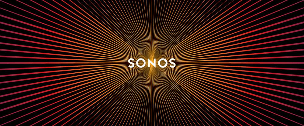 Pulsating identity for Sonos by Bruce Mau Design