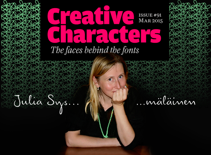 Creative Characters Interview with Julia Sysmäläinen