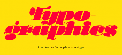 Typographics, a conference for people who use type