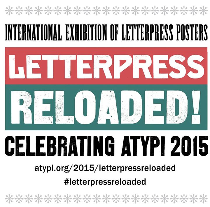 Letterpress reloaded international exhibition