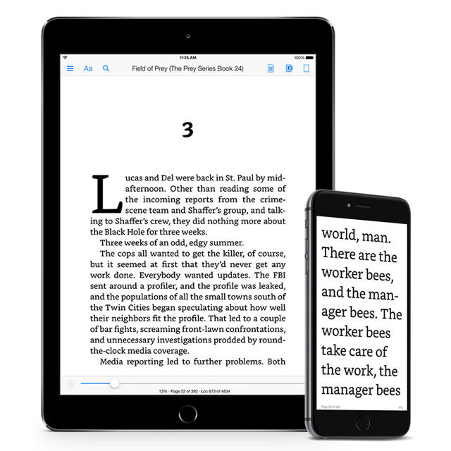 The Kindle finally gets new font