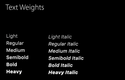 Video – New Apple System Fonts