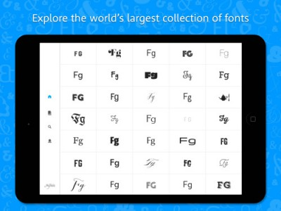 FontScout app, find great fonts on MyFonts