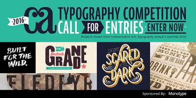 Communication Arts magazine: 6th annual Typography Competition