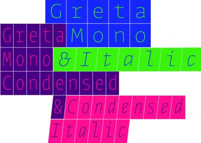 New font: Greta Mono by Typotheque