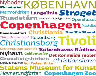 A new typeface for Copenhagen
