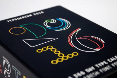 Typodarium 2016 – the daily dose of typography