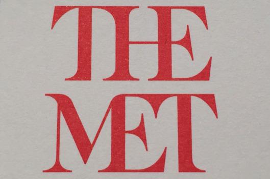 The Metropolitan Museum of Art's New Logo reviewed