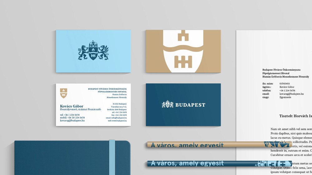 New logo and identity for Budapest reviewed
