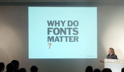 Nicer Tuesdays: Why do fonts matter?