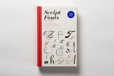 New book –  Script Fonts by Geum-Hee Hong