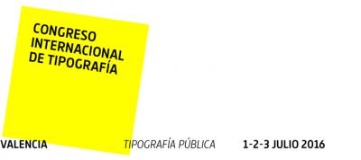 7th International Typography Congress in Valencia