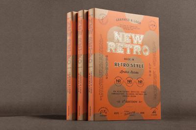 New book – Graphics & Logo in Retro Style