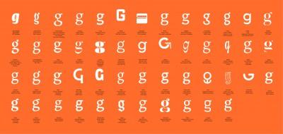 Pangramme – international student type design exhibition