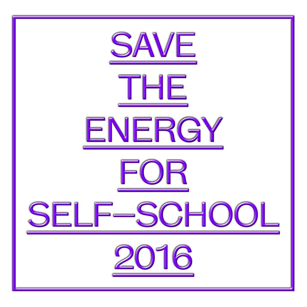 Self-school, 5–10 September, Bratislava, Slovakia