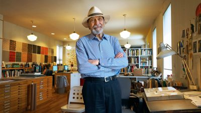 Milton Glaser still hearts New York