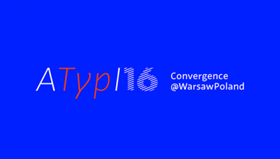 The ‪ATypI2016‬ program is now live!