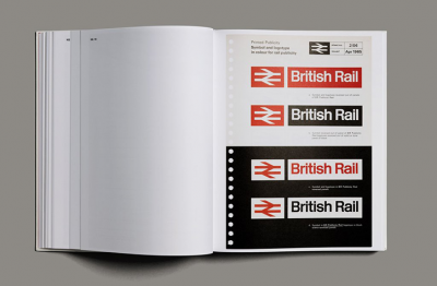 British Rail Corporate Identity Manual reproduction is here