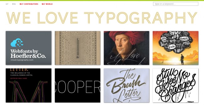 Top 7 typography galleries to inspire your designs