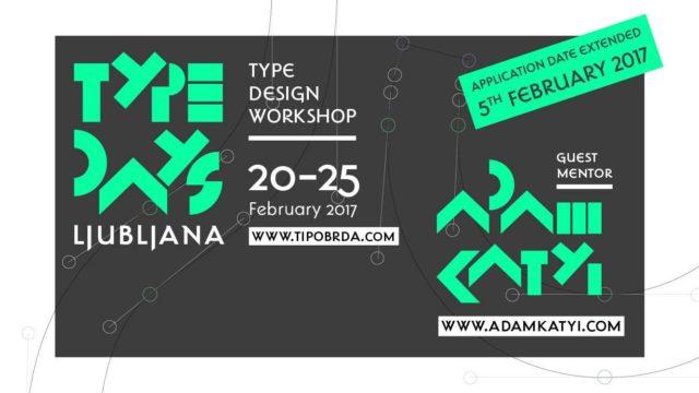 Type Days Ljubljana 2017
