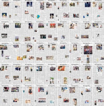 Every NY Times front page Since 1852 in under a minute