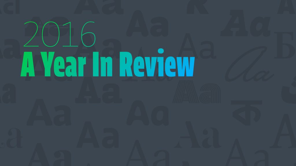 2016 – A year in review by Sébastien Morlighem