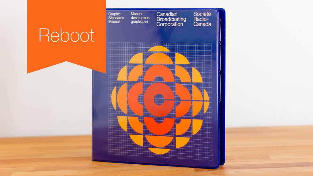 Reboot – 1974 CBC Graphic Standards Manual Revival