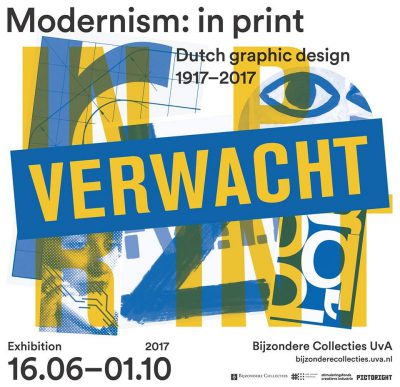 """Modernism: in print"" exhibition in Amsterdam"
