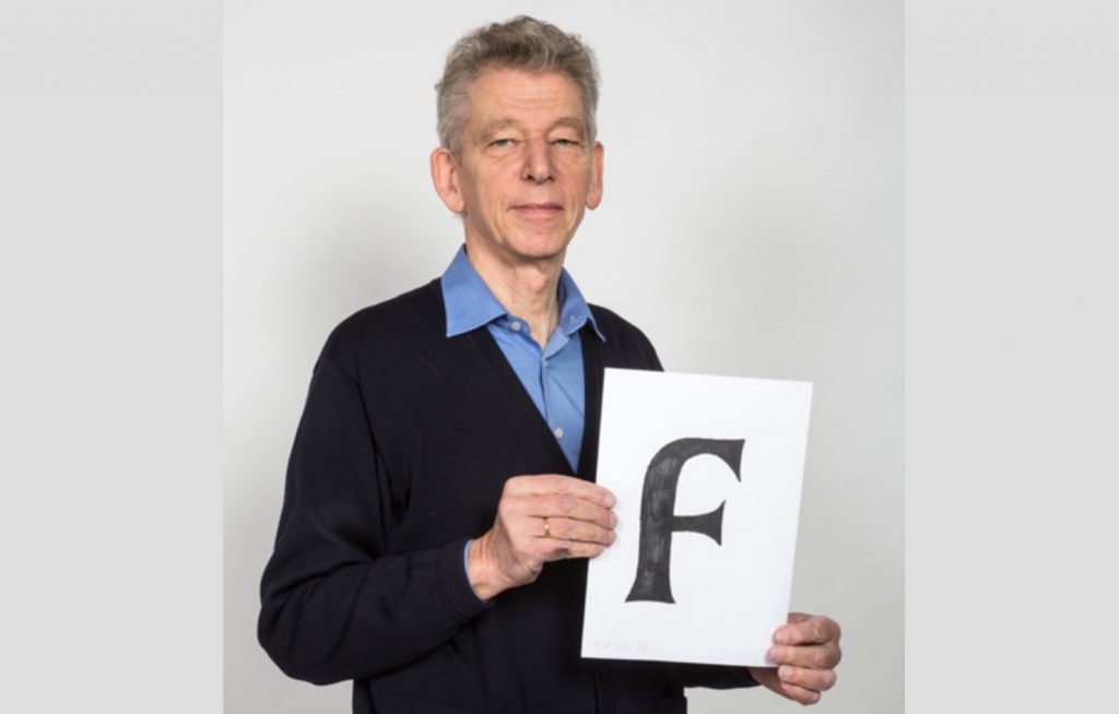 TDC medal awarded to Dutch typographer Gerard Unger