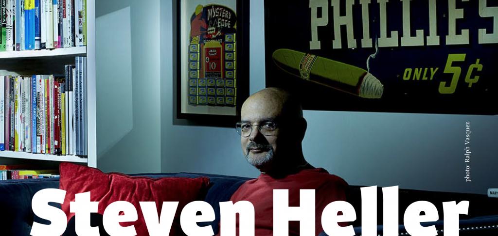 Steven Heller: Design Expert/Design Fan