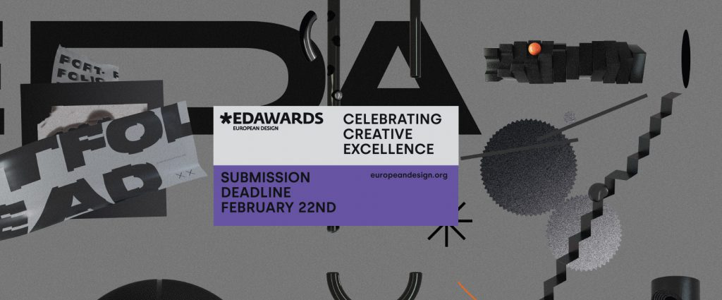 The 2019 European Design Awards call for entries