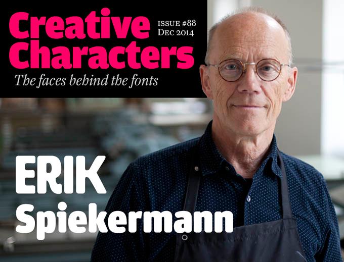Interview with Erik Spiekermann
