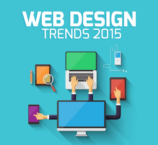 Top 10 expected web design trends 2015