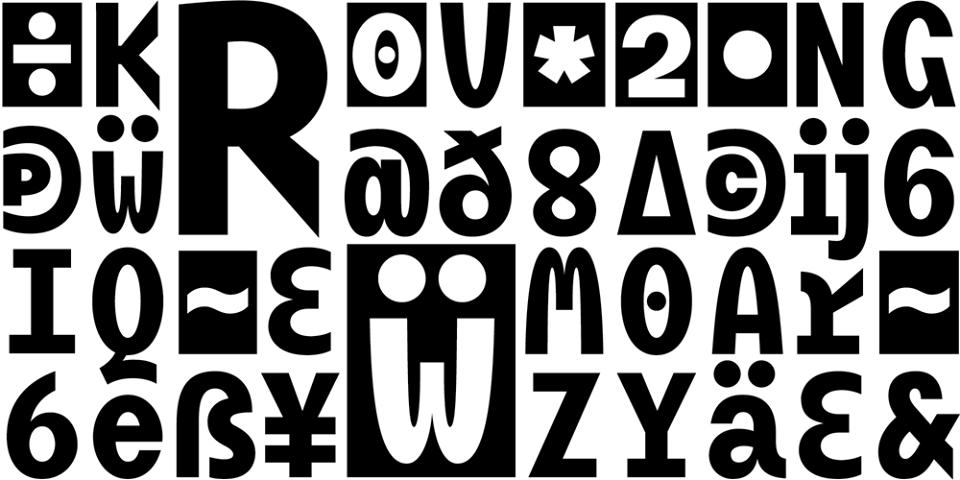 New font: BC Mikser by Filip Kraus