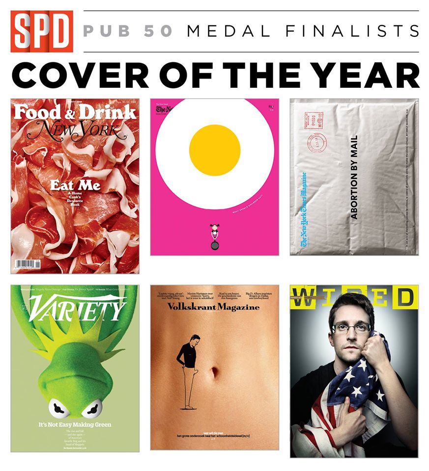 SPD 50: Cover of the Year Medal Finalists