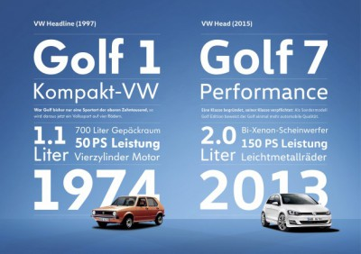 Volkswagen launches new font