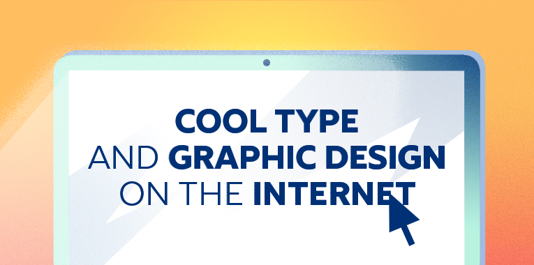 Cool type and graphic design