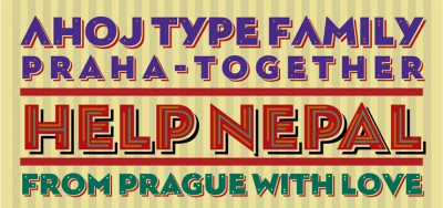 Free font Ahoj by TypeTogether