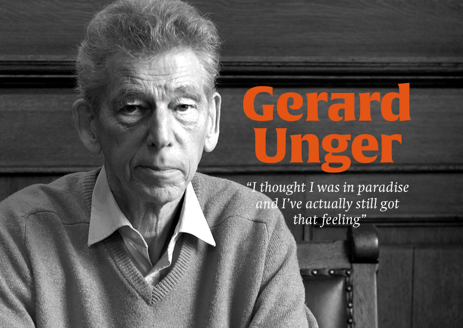 An interview with Gerard Unger