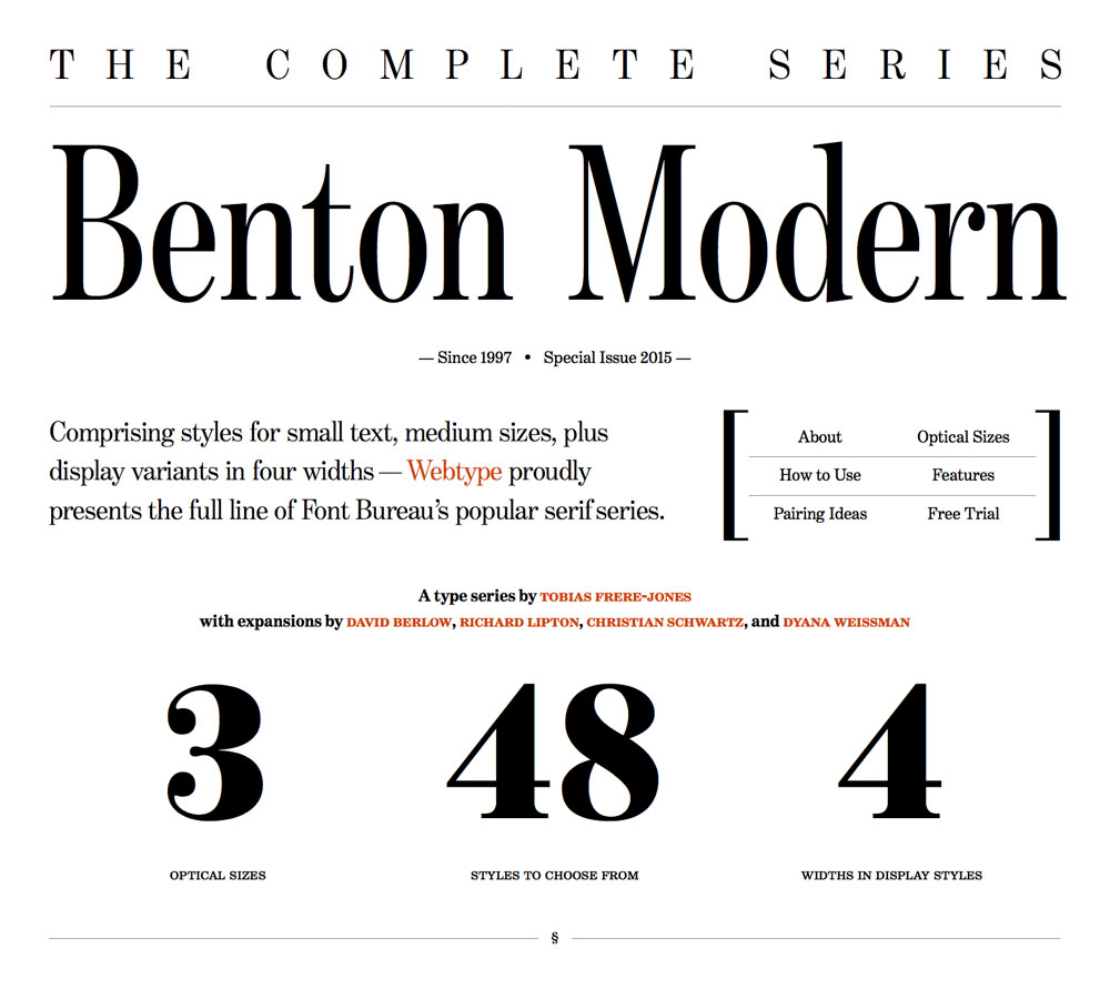 A case study on art-directed responsive web typography