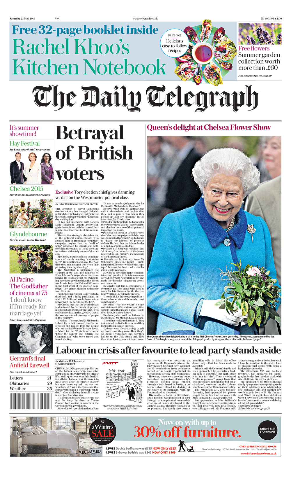 Eye magazine reviews the The Daily Telegraph redesign