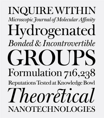 The winners of the TDC Typeface Design Competition