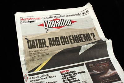 magCulture reviews redesign of a French newspaper Libération