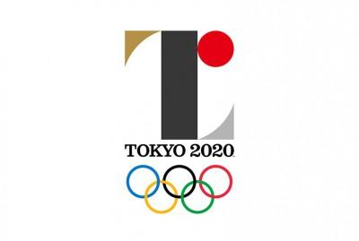 The official Tokyo 2020 Olympics logo by Kenjiro Sano