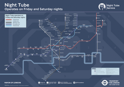 How London's New Night Tube Map Was Made