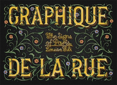 Graphique de la Rue, a book by Louise Fili