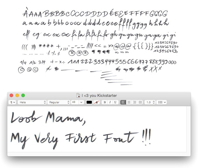 Fontself: make your own fonts in Adobe apps